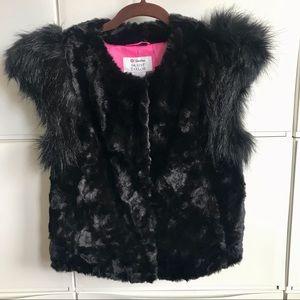 NWT Skaist Taylor faux fur vest for Target Size M